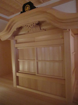 「湯殿」の内部は畳一畳程度の広さ。