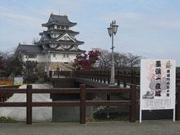 墨俣城(岐阜県安八郡墨俣町)      木下藤吉郎の一夜城として有名