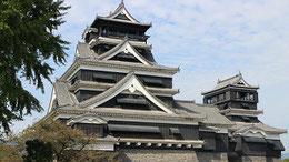熊本地震で倒壊前の熊本城       2014年10月20日 写真/見延典子