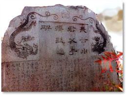 長谷川君父子瘞髪(えいはつ)之碑(亀山雲平先生の漢文)地蔵院様に許可を得て撮影と掲載を行っています。