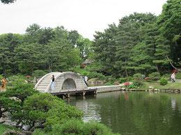 6月6日の縮景園