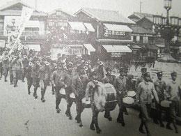昭和15年ころの猿猴橋(広島市)