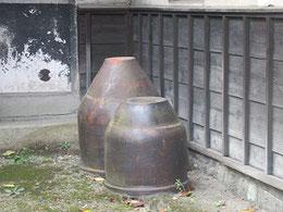 かつて使われていた甕