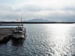 草津港から宮島を望む ひろしまフオト歩き