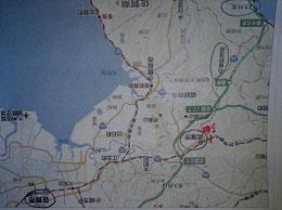 現在の佐賀県地図