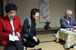 左は石村良子「頼山陽ネットワーク」代表