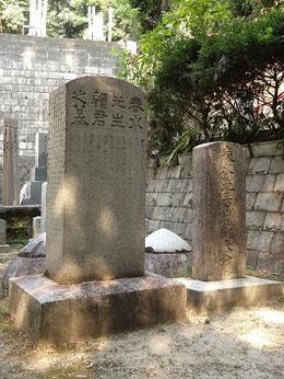 広島安養院(現多聞院 山陽文徳殿隣)   頼春水墓石