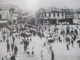 樺太神社の祭りの様子 「望郷樺太」より