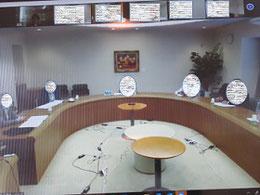 オンライン会議の様子