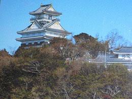 現在の岐阜城(旧稲葉山城)