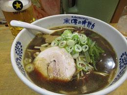 札幌駅近く「味の時計台」醤油ラーメン