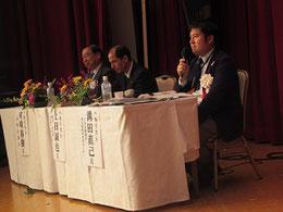左からパネラーの村崎氏、上田氏、溝田氏