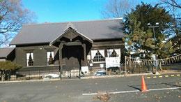 札幌市西区新琴似神社境内にある「屯田兵中隊本部」。見学は無料。但し年内は11月末までであった。残念!