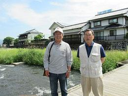 近砂敦さん(左)と島藤寿敏さん(右)