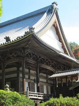 3枚の写真は「満徳寺」本堂