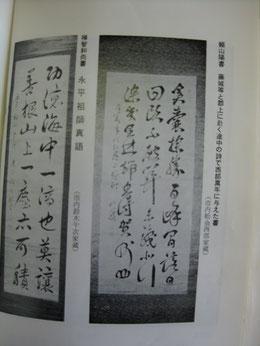 山根さんが「発見」した頼山陽の漢詩が掲載されている本