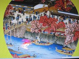 堀川花盛図(名古屋市博物館)