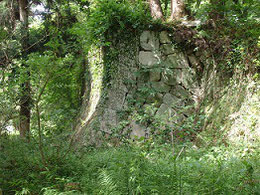 石垣はさすがの重厚さ