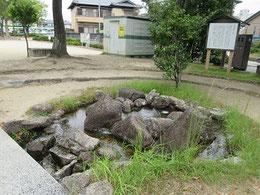 今川義元の首級を洗い清めたされる泉