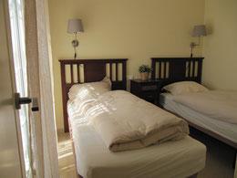 Tweede slaapkamer met terras Villa Casa del Lago