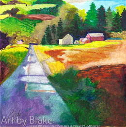 'Country Road' by Blake
