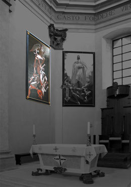 Aquila, San Giuseppe Artigiano, Hauptapsis