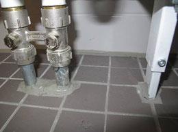 Verwendung nicht korrosionsgeschützter Rohrleitungen