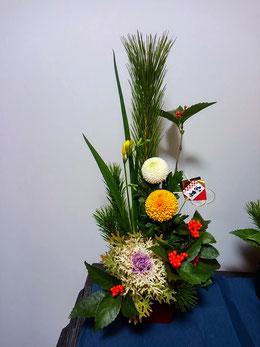 お正月飾りを創る