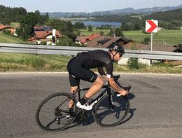 Bergab Technik beim Rennrad fahren