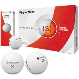 ゴルフボール一覧-テーラーメイド-プロジェクトS-ゴルフボール