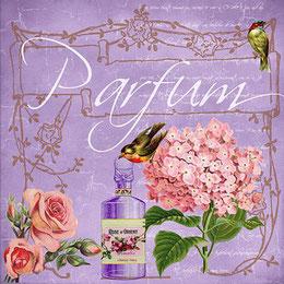 Die Abbildung zeigt ein weiteres entzückendes Parfümfläschchen (allerdings nicht von Fragonard)