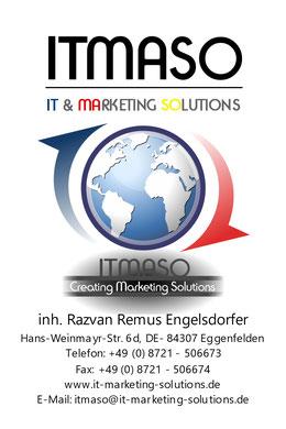 Bild, ITMASO, IT & MARKETING SOLUTIONS, Hans-Weinmayr-Str.6d, 84307 Eggenfelden, www.itmaso.de, www.it-marketing-solutions.de, www.itmaso-ausenwerbung.de