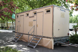 Wagen II - Meisel Team |Toilettenwagen Vermietung