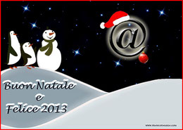 Buon Natale e Felice 2013