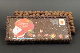 Xocolatl - Tablette de Noël (noir-noisettes)