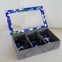 アクリル板の収納箱カルトナージュアクセサリー小物整理