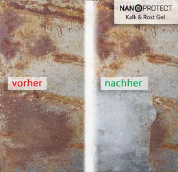 Nanoprotect-Kalk&Rost Gel - Flugrostentferner
