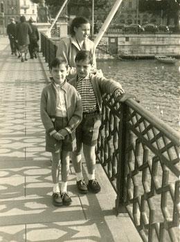 à Genève en 1955