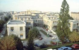 l'hôpital Edouard Herriot que tout le monde appelle Grange-Blanche