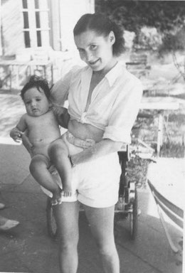 été 1948, porté par ma mère