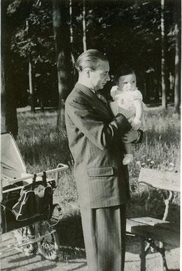 25 juillet 1948, Roland avec moi