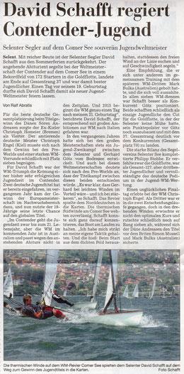 Mit feundlicher Genehmigung von Ralf Abratis / Kieler Nachrichten