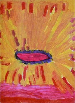 """Gruß von """"Zuhause""""  Janina Q.  1999 ©"""