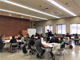 「一関市後期総合計画基本計画」策定に係るワークショップの様子