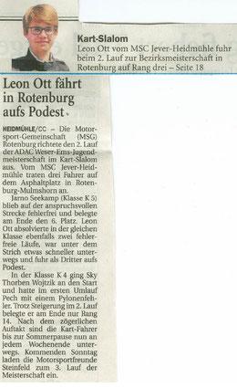Wilhelmshavener Zeitung 01.06.18