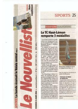 Le Nouvelliste, 21.03.14: Möriken