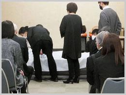松戸市斎場での火葬式