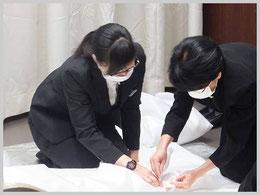 三郷市斎場での火葬式