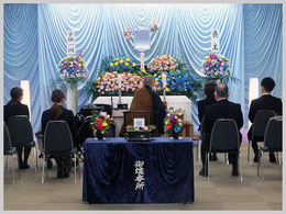 松戸市斎場での一日葬