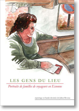 """Couverture """"Les Gens du Lieu"""""""